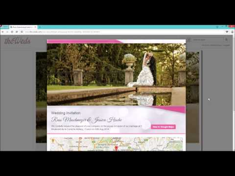 How To Do Online Invitations and Manage Online RSVP List On The-Weds