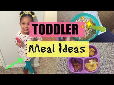 Toddler Meal Ideas | BREAKFAST, LUNCH, DINNER & SNACK
