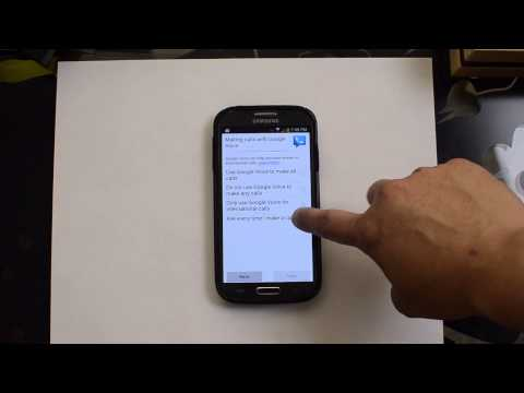 Setting up Call Forwarding for Google Voice on the AT&T Samsung Galaxy S4