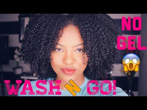 No GEL Wash N Go! AUSSIE HAS ME SHOOK YALL
