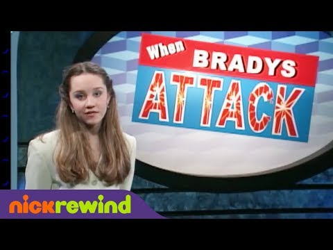 When Bradys Attack | The Amanda Show | The Splat