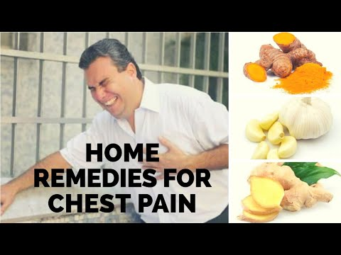 Home Remedies for Chest Pain (Angina)