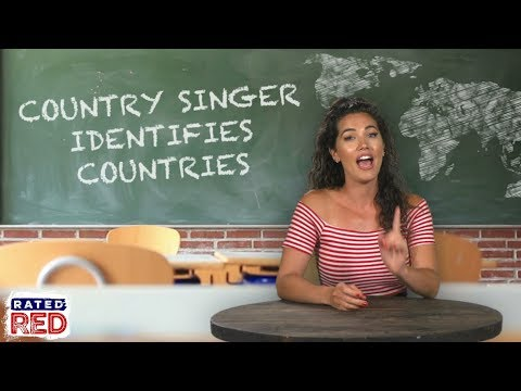 A Country Singer Tries to Identify Countries