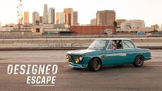 This BMW 2002 Is Driven Aggressively By A Car Designer