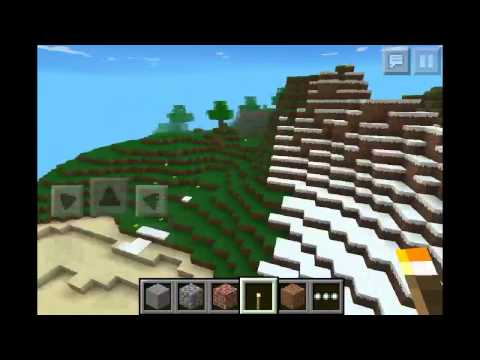 Minecraft PE 0.7.5 Seed Review: slenderman