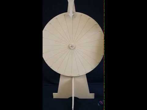 Standing Spinning Jenny MDF Wheel of Fortune For Fete, Fundraiser or School