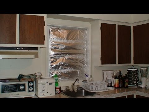 Test : How to isolate a window for the winter, fast and easy method