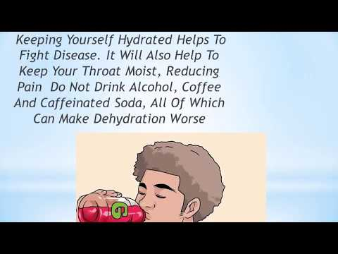 How to get rid of sore tonsils-  Get Rid Of Tonsillitis And Sore Throat QUICKLY