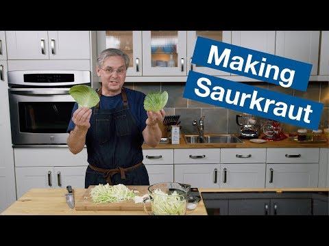 How To Make A Basic Sauerkraut Recipe || Le Gourmet TV Recipes