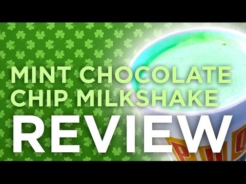PDQ Mint Chocolate Chip Milkshake REVIEW