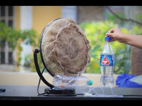 How To Make a air conditioner using Fan