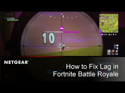 How to Fix Lag & Increase Performance in Fortnite Battle Royale