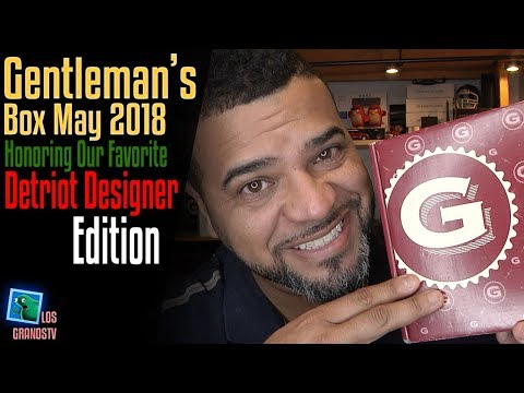 Gentleman's Box May 2018 👔 : LGTV Review