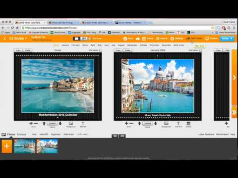 Learn How to Sell Photo Calendars Online