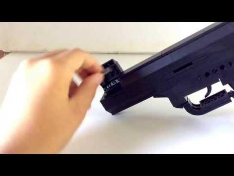 Life Size Lego Gun That Shoots