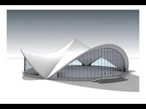 Revit Architecture 2014. Hyperbolic paraboloid.