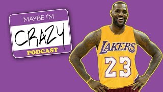 LaVar on LeBron, Lakers and Trump | EPISODE 45 | MAYBE I