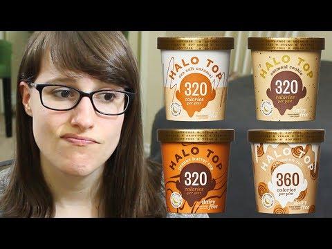 Halo Top Dairy-Free Ice Cream Review (coconut milk-based & vegan)