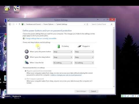 How to enable disable require password after sleep windows 8 8.1 7