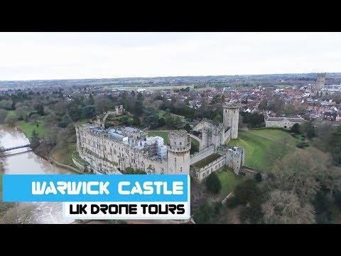 Warwick Castle   Drone Footage
