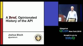 A Brief, Opinionated History Of The Api