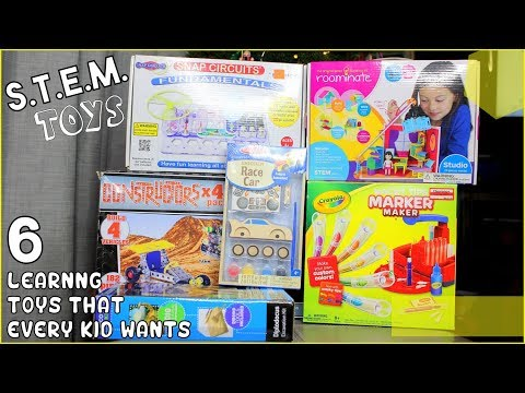 Must Have S.T.E.M. Toys! - STEM Learning Toys to Add to Your Gift Ideas List