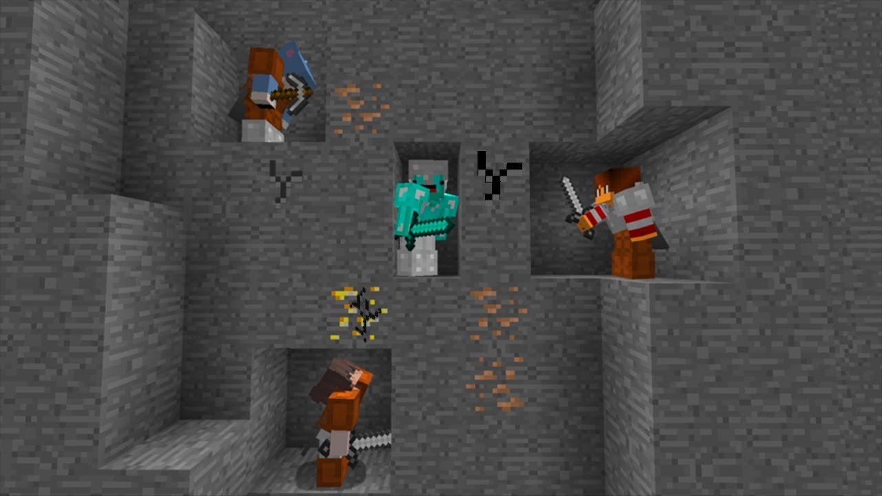 Minecraft Manhunt VS 100 Hunters - Skeppy Challenge