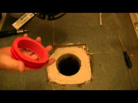 Fix a Drain Pipe and Install a Toilet Flange