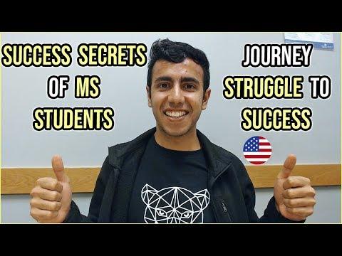 Success Secrets of Struggling MS Students   Internships & Jobs