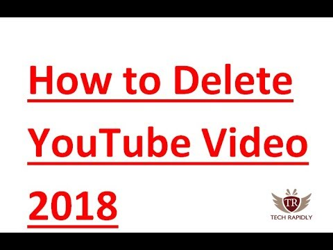 How to Permanently Delete Youtube Video and ReUpload Video Again 2018