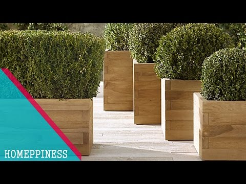 MUST LOOK !!! 30+ Cheap, Creative Wood and Stone Garden Planter Ideas For Your Garden Landscaping