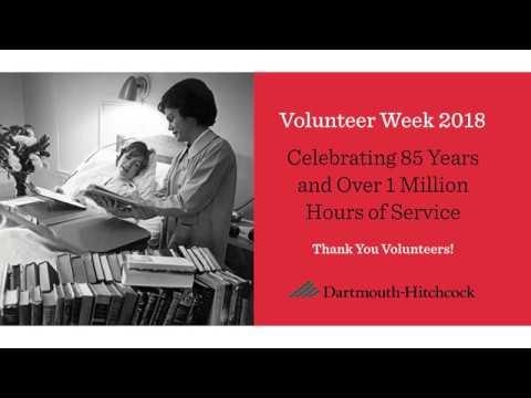Thank You Dartmouth-Hitchcock Volunteers!