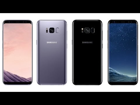 SAMSUNG GALAXY S8 - Official Colors & Launch Price
