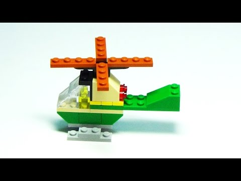 Lego Classic 10696 - How to build a Helicopter