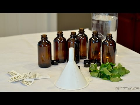 DIY Homemade Mint Extract