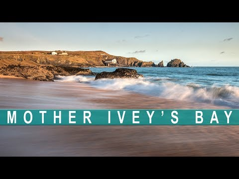 Mother Ivey's Bay in Cornwall