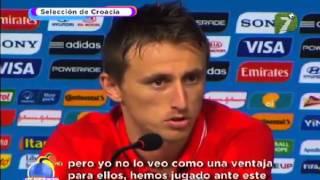 Memo Ochoa Calla a Modric México Vs Croacia 3-1
