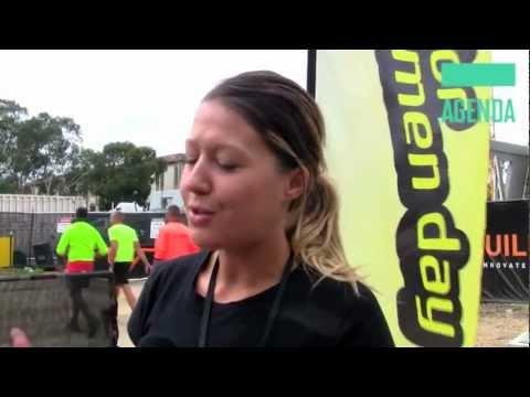 Sarah Wall: Netball. Agenda Conference 2013