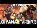 SKT T1 Faker Qiyana vs Twisted Fate (9.14) Ranked Challenger Korea