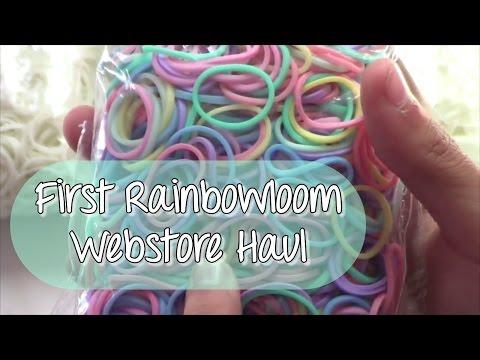 First Rainbowloom Webstore Haul