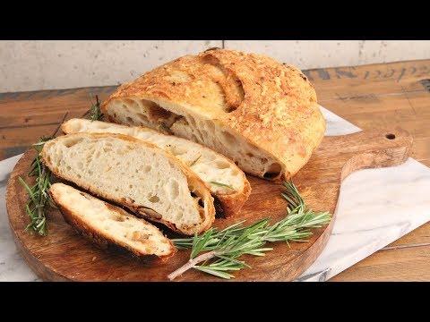 Asiago and Roasted Garlic Bread Recipe   Episode 1204