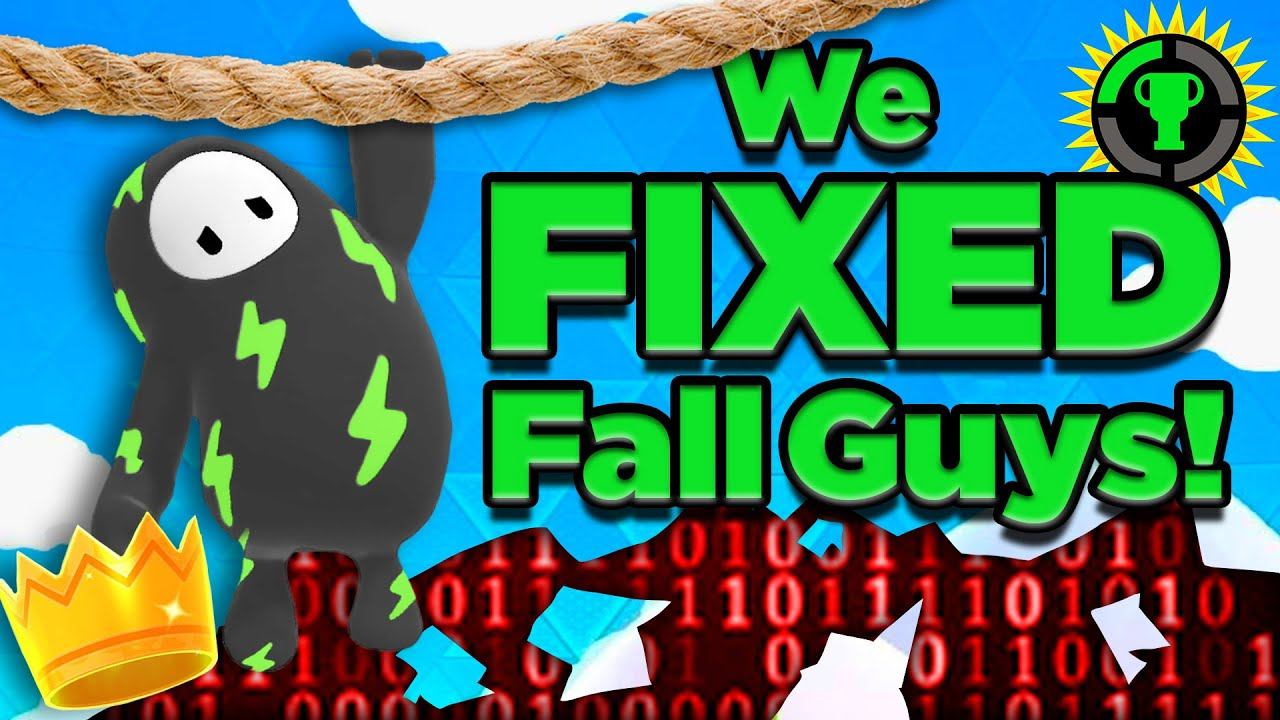 Game Theory: Dear Fall Guys, I Fixed Your Game!