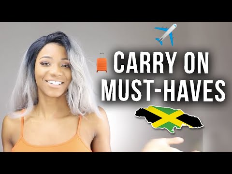 What to Bring in Your Carry-on Travel Bag for Jamaica 2018 | Annesha Adams