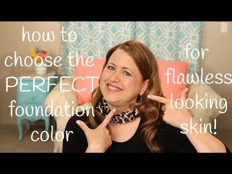 How to choose the perfect makeup foundation color for your skin