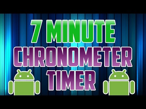 Android Studio : How to Make a Counter App / Timer using Chronometer