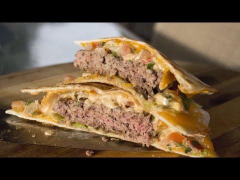 Quesadilla Burger Recipe