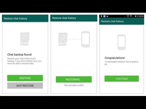 Backup And Restore Full WhatsApp on Phone Upgrade Without Loss