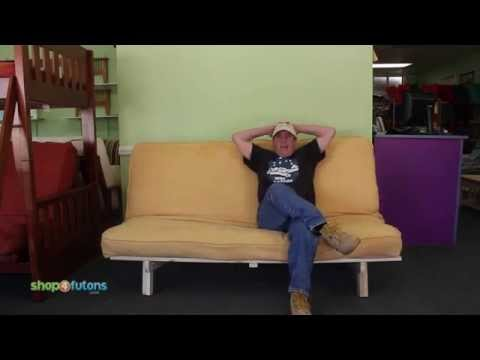 How to Operate a Bi-Fold Futon Sofa Bed