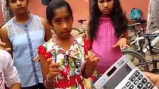 Indian girl mind math amazing