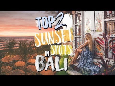 TOP 2 SUNSET SPOTS IN BALI